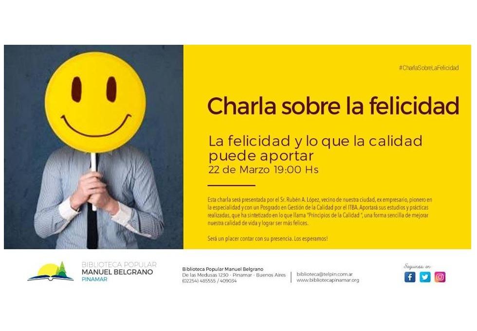 Actividades semanales en la Biblioteca Popular Manuel Belgrano – Muestra y charla