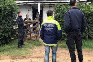 Allanamientos positivos con esclarecimientos de ilícitos y detenciones – Cristian Echeverría