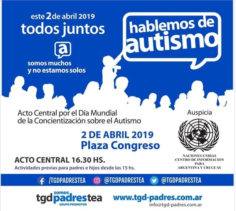 """""""El autismo no es una enfermedad. Es un trastorno que lo van a llevar siempre"""" – Carlos Fiore"""