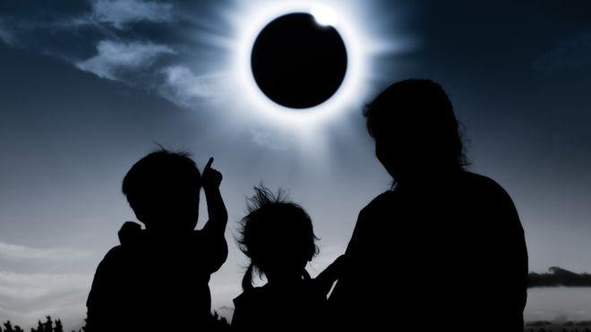 La protección de ojos no es por el eclipse sino por los rayos del sol – Denis Martinez – Astronomo