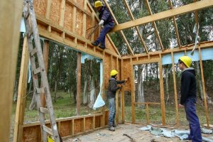 """""""La idea es desmantelar y reutilizar, reciclar, todas las maderas que están en buen estado"""""""