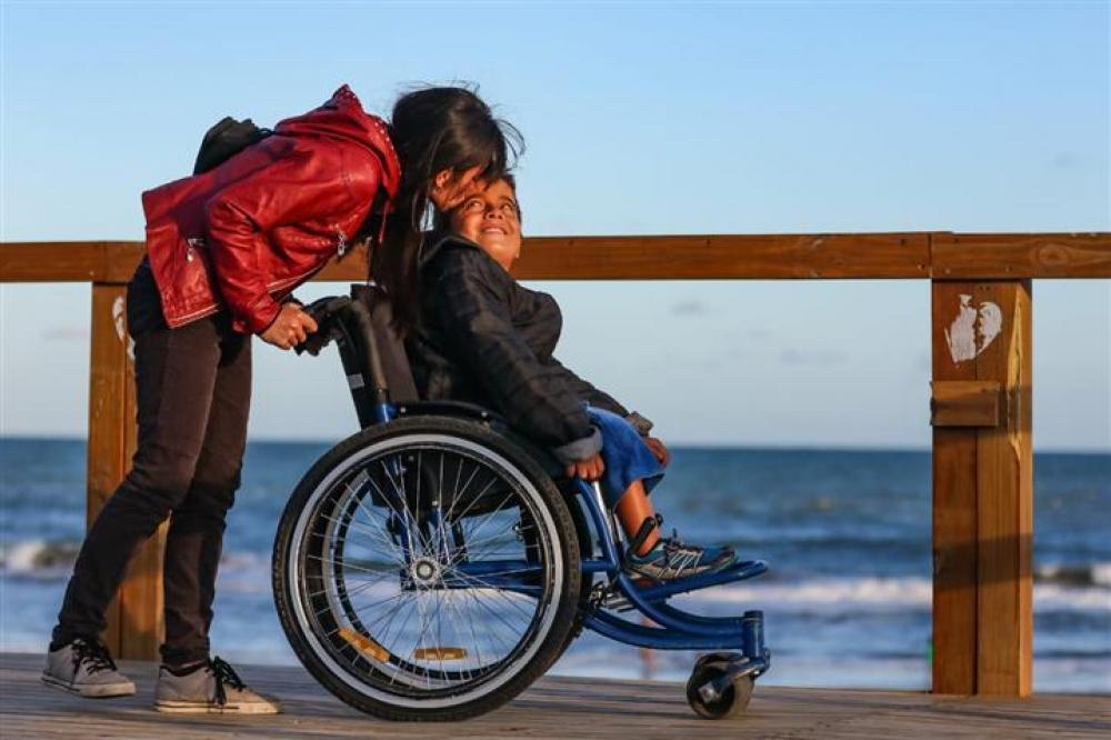 Flexibilidad para paseos terapéuticos de personas con discapacidad