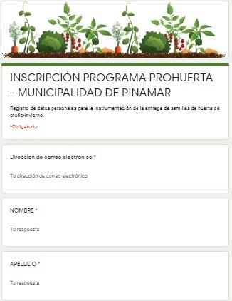 ENTREGA DE SEMILLAS Y CAPACITACIONES ONLINE DEL PROGRAMA PRO HUERTA – Federico Guzmán