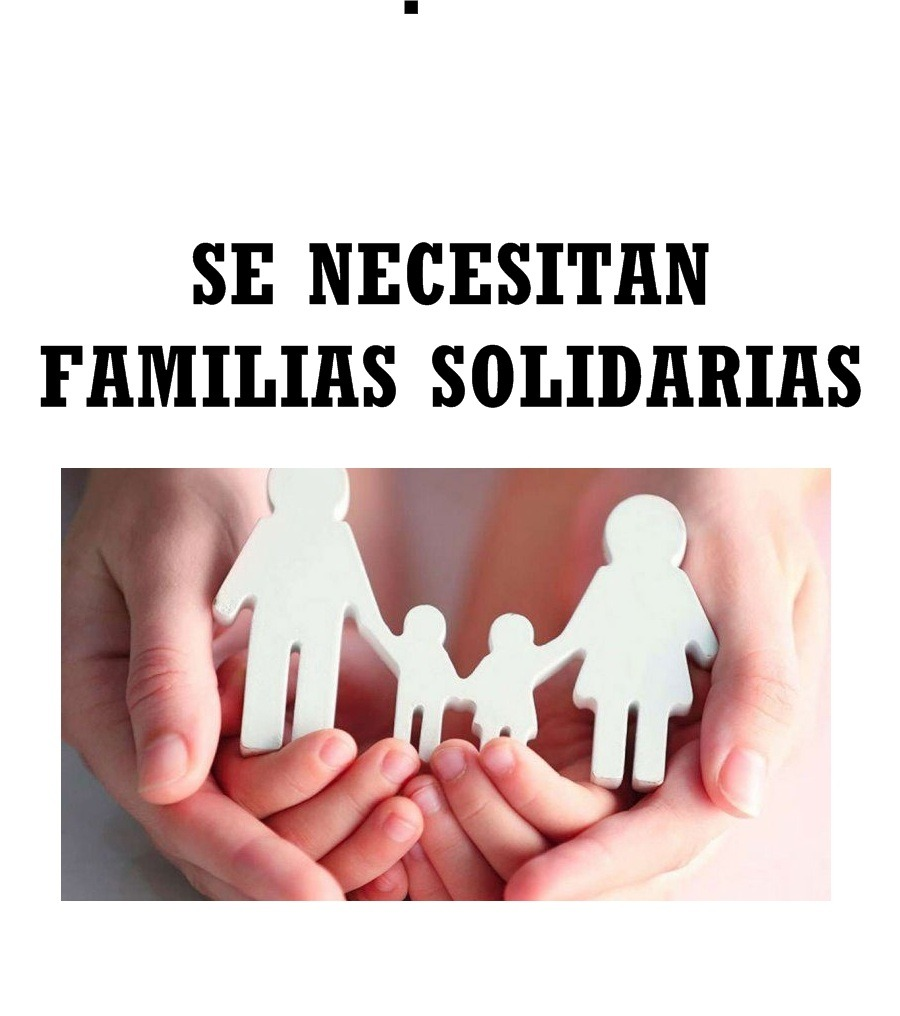 Se precisan familias voluntarias que abriguen a menores