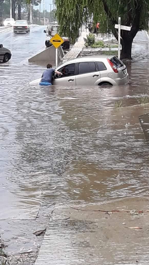 """Fuertes y abundantes precipitaciones golpean nuevamente a Pinamar – """"No se esperaba"""""""