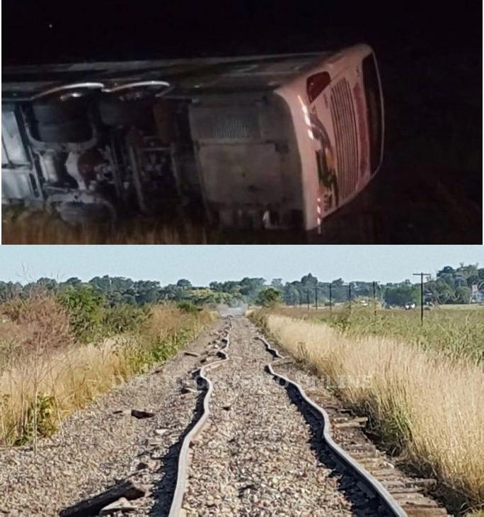"""""""Sumado al vuelco del micro en ruta 2, no debemos olvidar el descarrilamiento del tren"""""""
