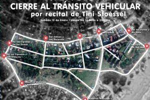 Amplio operativo de control, cortes de tránsito – Sebastian Berardone