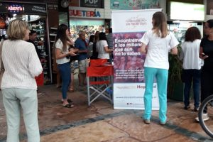 Amplia convocatoria en los test instantáneos de Hepatitis
