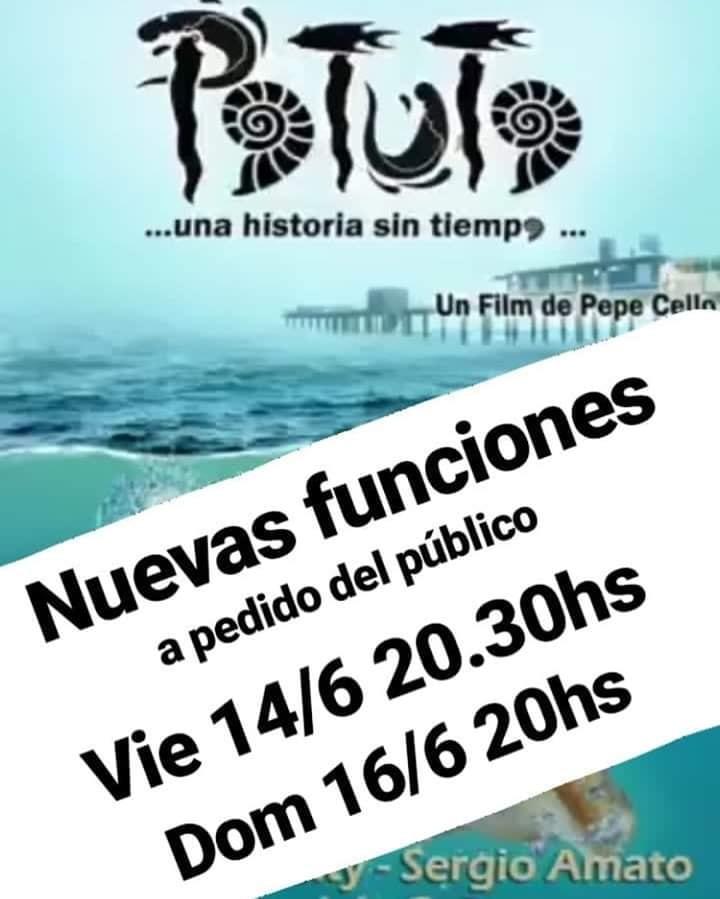 Potuto ya fue aceptada en los festivales internacionales – Nuevas funciones en Pinamar