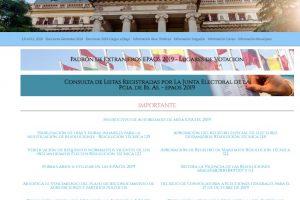 Denuncias por no votar en la página de la Junta Electoral – ¿Cuándo acudir al Juzgado de Paz?