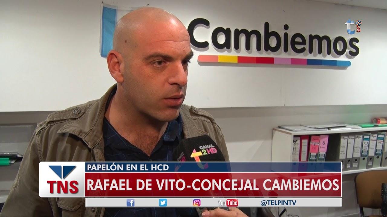 """""""El balance es positivo… …Pero… me he sentido frustado con un montón de debates"""" – Rafael De Vito – Cambiemos"""